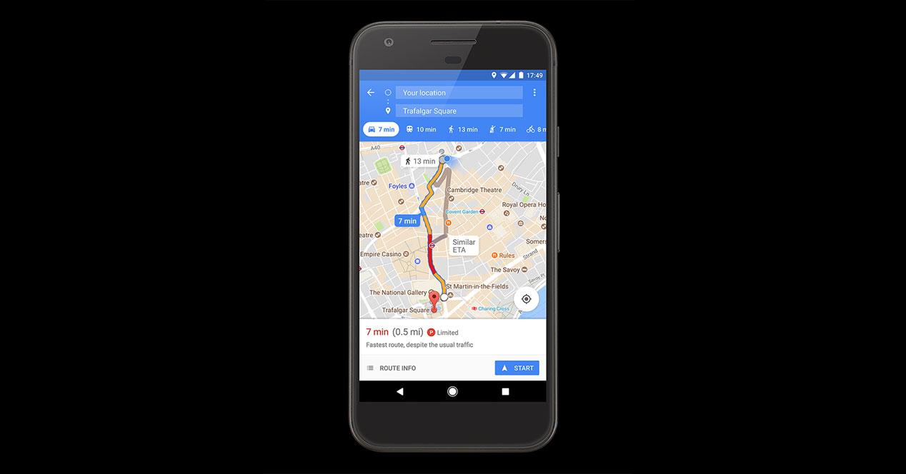 Aparcar en Madrid o Barcelona será más fácil gracias a Google Maps