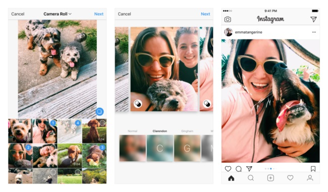Instagram ya deja elegir el formato que queramos en los álbumes