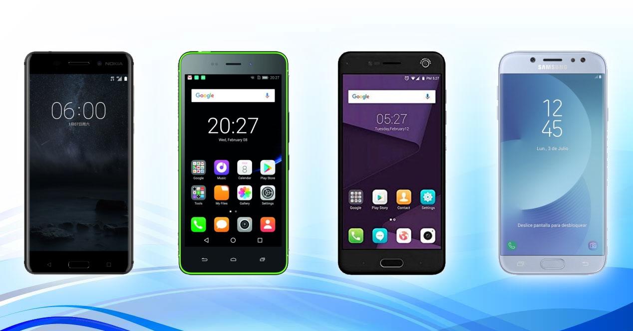 Los cuatro mejores smartphones por menos de 300 euros