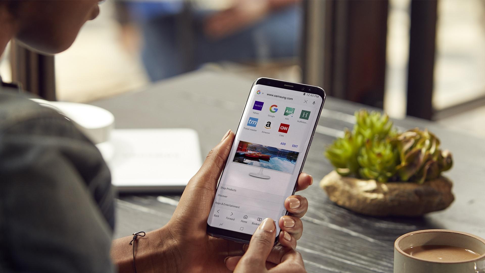 Así puedes sincronizar los marcadores de Google Chrome en el navegador de Samsung