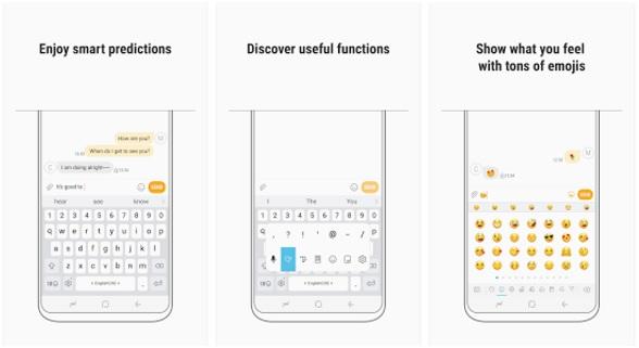 El teclado de Samsung ya está disponible en la Google Play