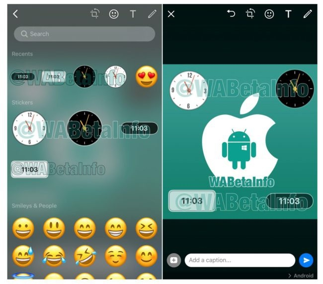 WhatsApp se apunta a meter stickers como en Instagram