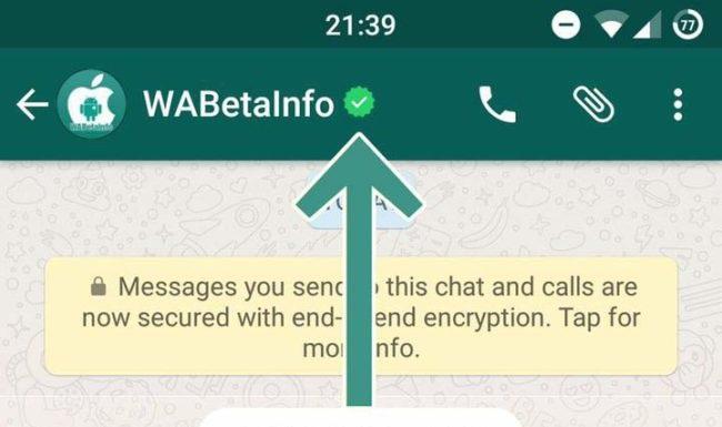 WhatsApp imita a Twitter: ¡tendremos perfiles verificados en el chat!