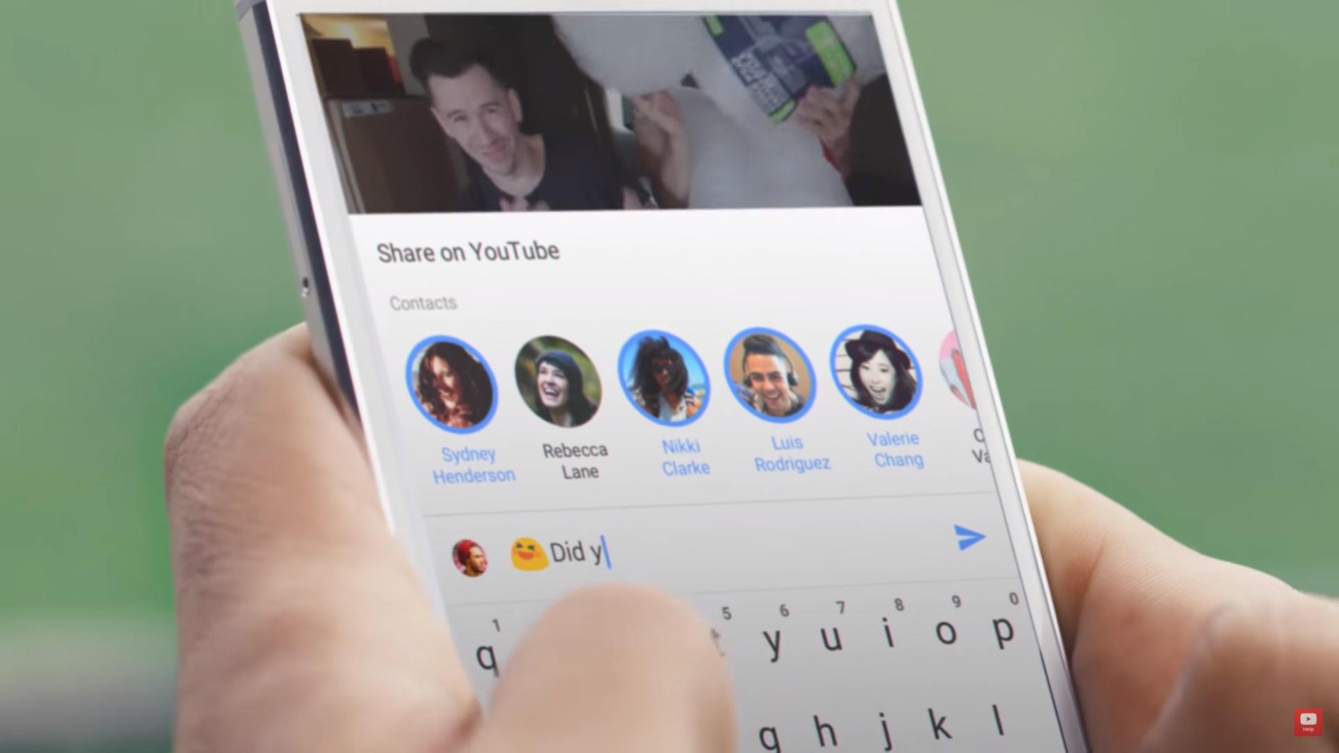Youtube se actualiza en smartphones... ¡con un chat para los contactos!
