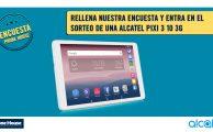 ¡Rellena nuestra encuesta sobre Segunda Mano y gana una tablet Alcatel Pixi 3 10 3G!