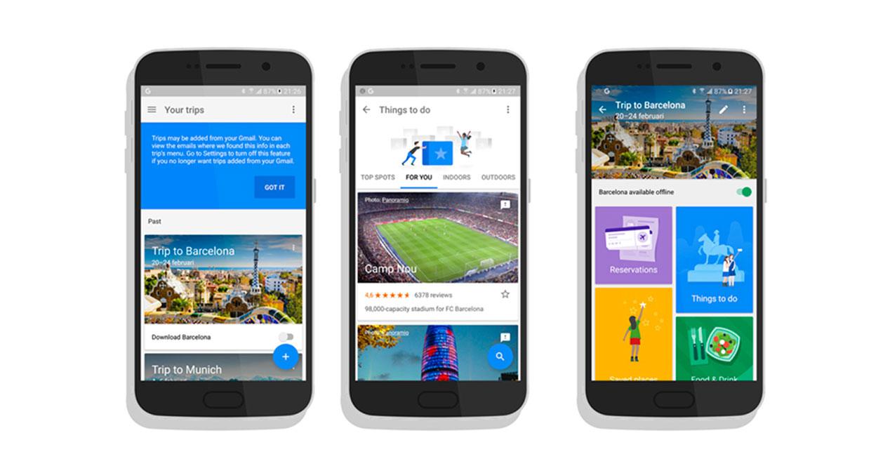 ¡Buenas noticias! Google Trips ya está en español