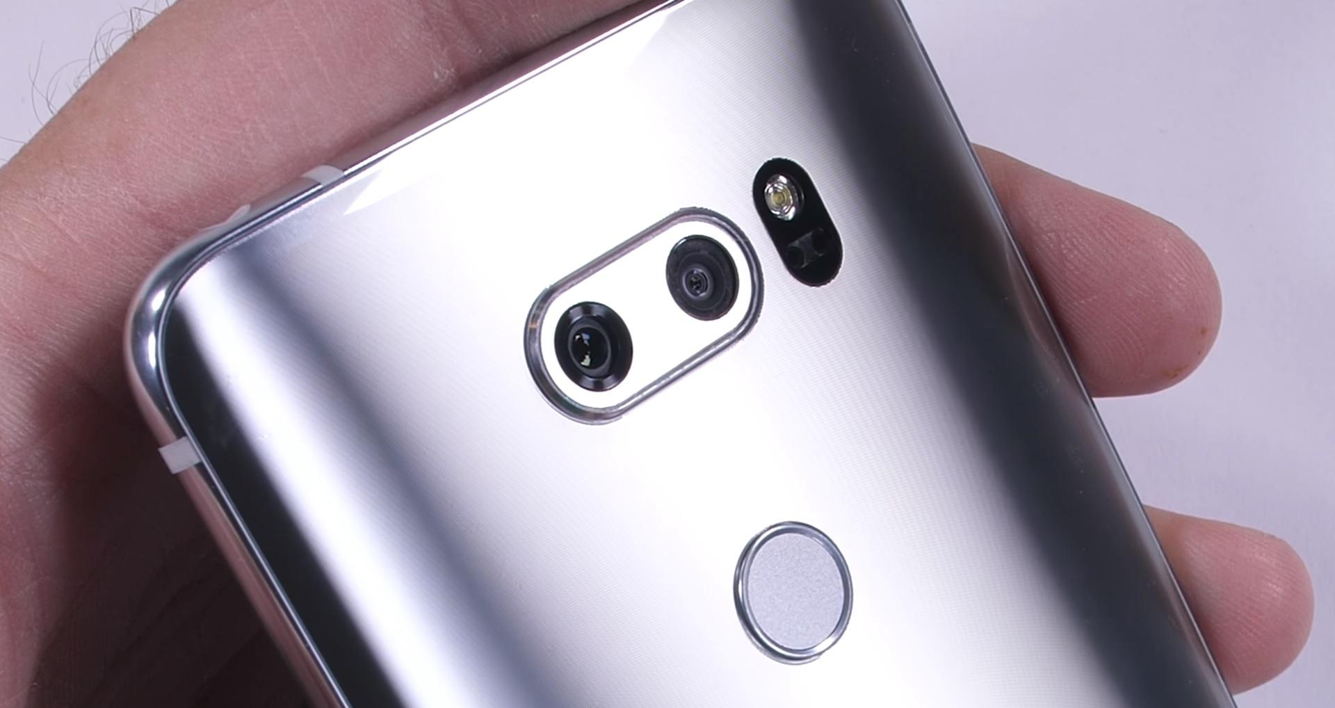 Así es la cámara del LG V30 por dentro