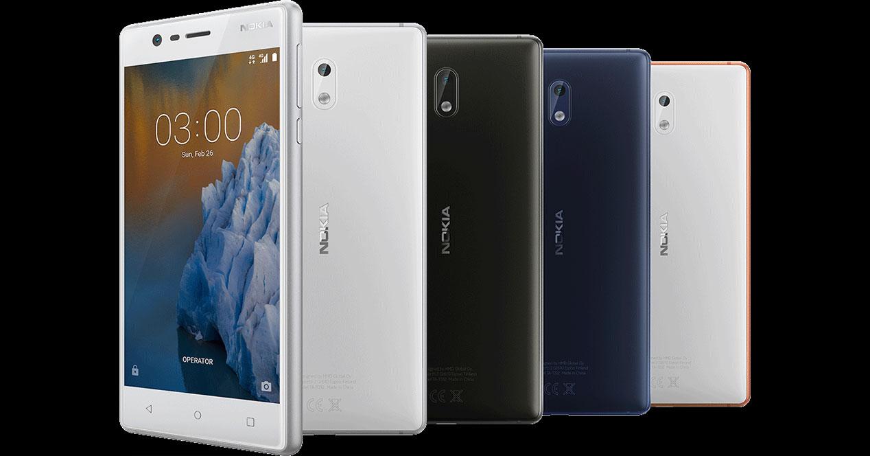 Nokia 3 se actualiza y pega el salto a Android 7.1.1 Nougat