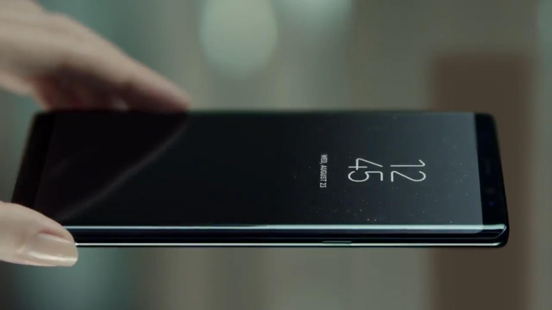 Samsung Galaxy Note8, todas las virtudes del phablet en su spot en español