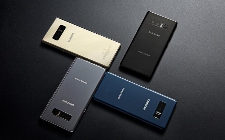 Samsung Galaxy S8 y Note8 reciben nueva actualización de sistema