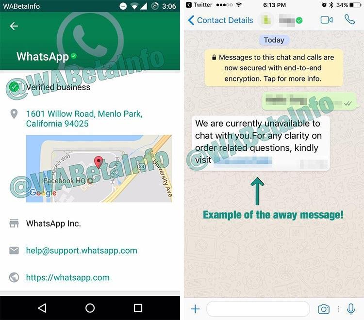 WhatsApp Business ya es una realidad: cuentas verificadas y nuevas características