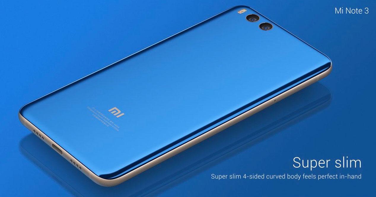 Así es el Xiaomi Mi Note 3, el phablet de la marca china