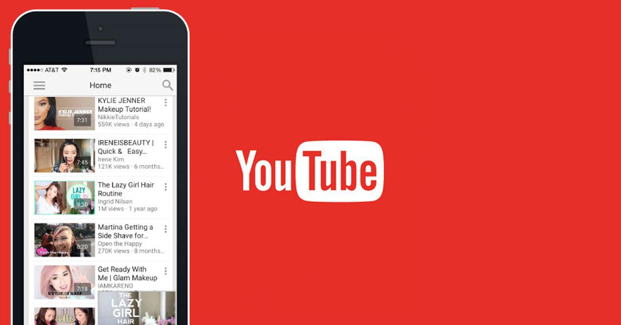 Youtube se actualiza con los mismos gestos que Gmail