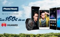 ¡Solo hasta el 18 de octubre descuentos de hasta 160€ en smartphones y wearables Huawei!