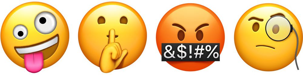 Emojis iOS 11