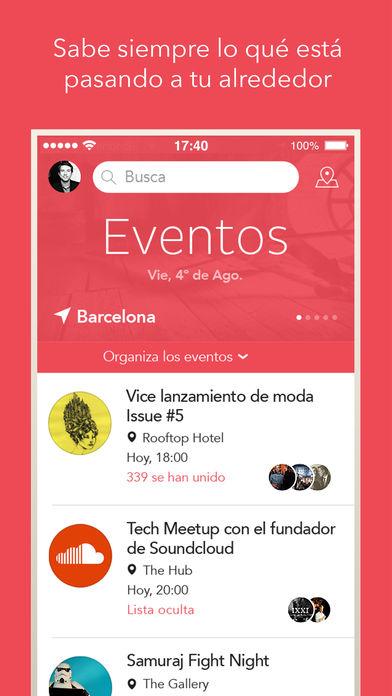 Apps para hacer planes