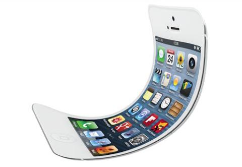iPhone con pantalla plegable
