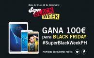¡Comparte nuestras ofertas de #SúperBlackWeekPH y gana un vale de 100€ para Black Friday!