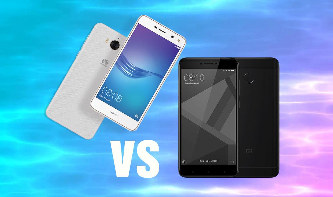 Huawei y6 2017 vs Xiaomi Redmi 4X