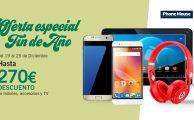 ¡Oferta especial Fin de Año: descuentos exclusivos online de hasta 270€ en móviles y electrónica!