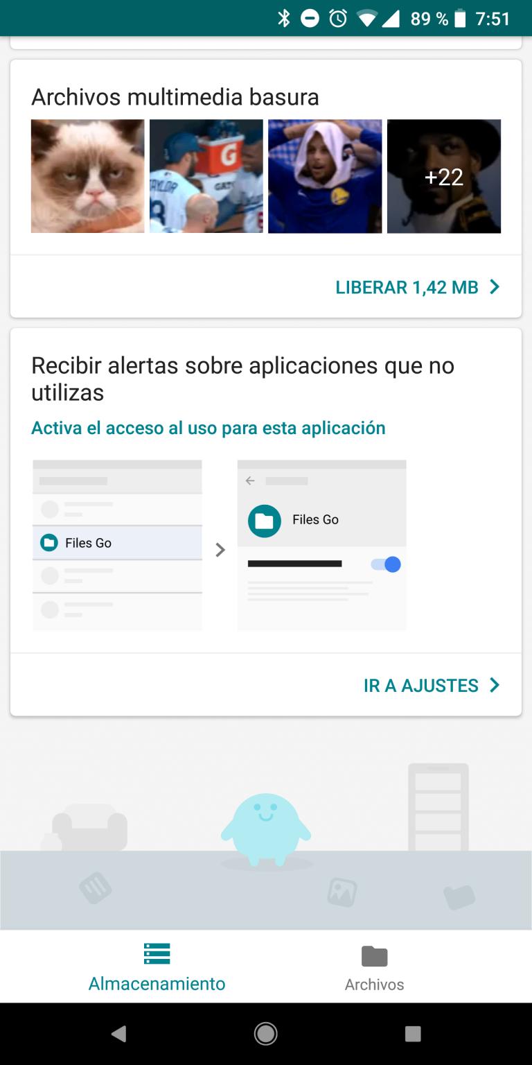 Aplicación Files Go