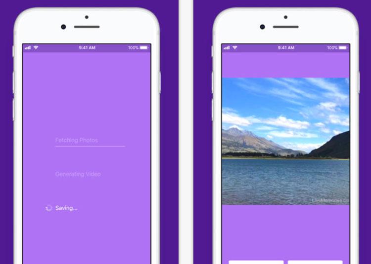 Live Photos del iPhone