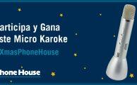 ¡Participa en #XmasPhoneHouse y gana un micrófono karaoke con altavoz incorporado!
