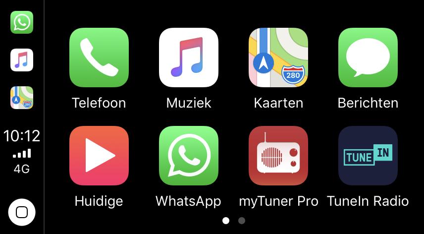 CarPlay WhatsApp