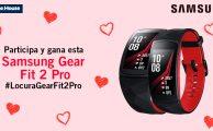 ¡Participa en #LocuraGearFit2Pro y gana una pulsera Samsung Gear Fit 2 Pro!