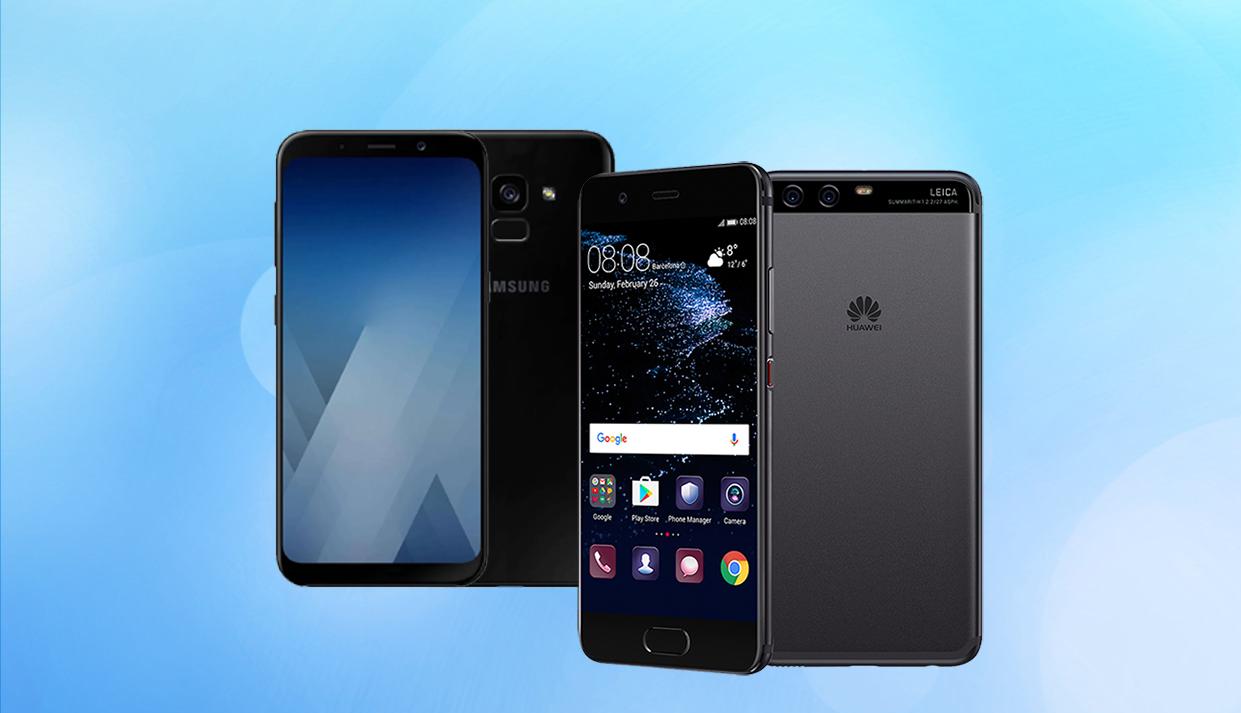 Huawei P10 Lite Galaxy A8