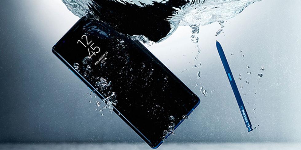 Note8 Agua