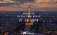 Al descubierto el diseño de los tres nuevos móviles Huawei P20