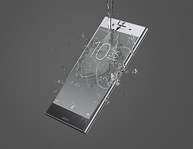 Sony Xperia XZ Premium agua