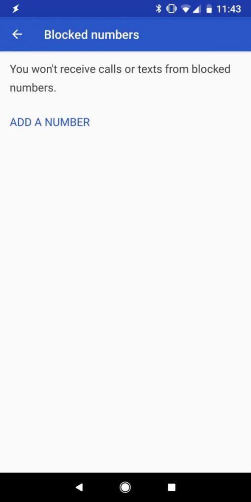 bloquear llamadas comerciales Android P