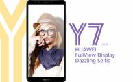 Características y diseño del nuevo Huawei Y7 2018