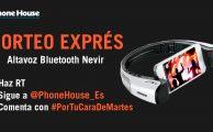 ¡Participa en #PorTuCaraDeMartes y gana un altavoz bluetooth Nevir para smartphone!