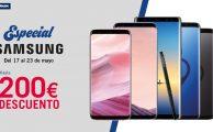 ¡Solo del 17 al 23 Semana Especial Samsung con descuentos de hasta 200€ smartphones, tablets y gadgets!