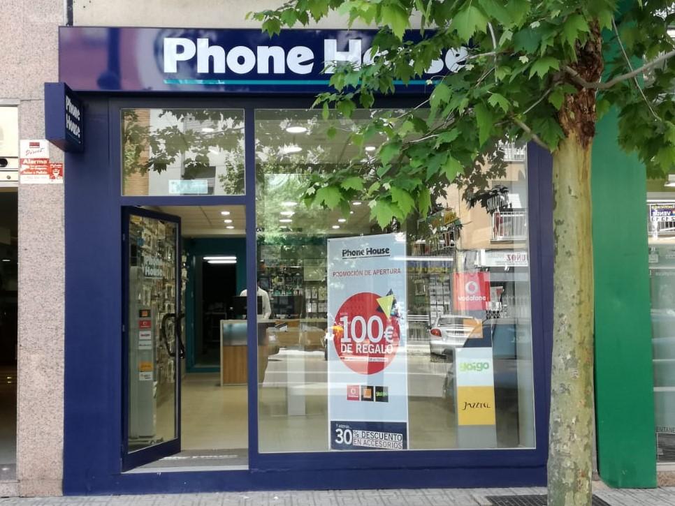 Tienda Phone House Badajoz - Entrada