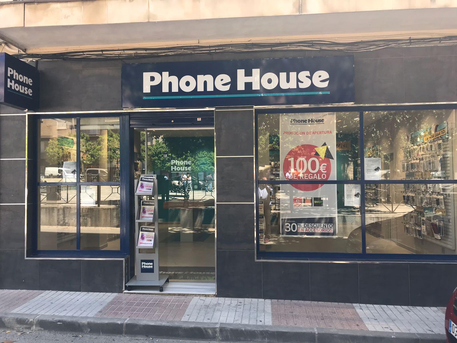 Tienda Phone House en Bailén (Jaén)
