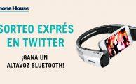 ¡Participa en #PorTuCaraDeMartes y gana un altavoz bluetooth para smartphone!