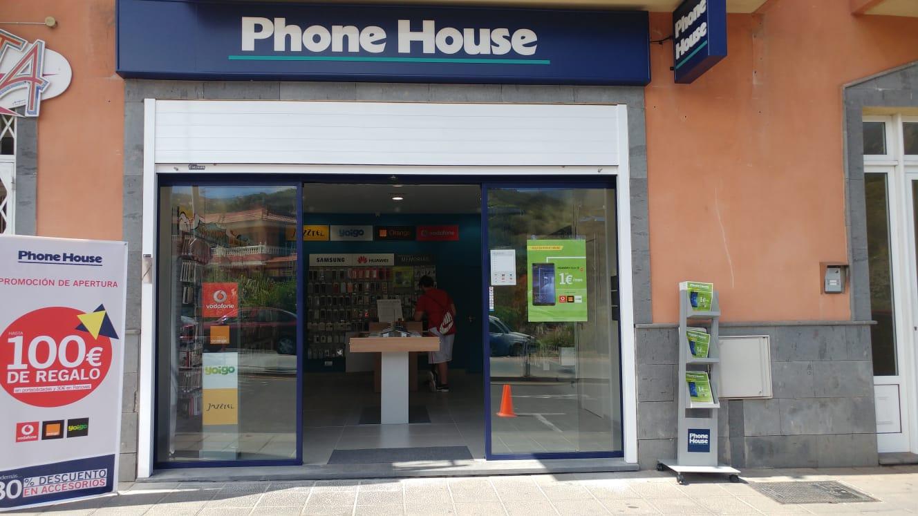 Exterior tienda Phone House - Icod de los Vinos (Tenerife)