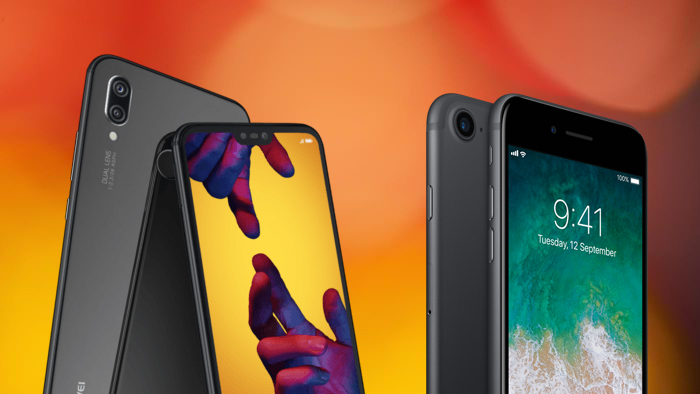 Huawei P20 - iPhone 7