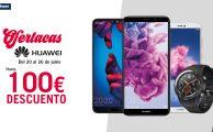 ¡Solo del 20 al 26 de junio Semana Huawei con hasta 100€ de descuento en smartphones, tablets y wearables!