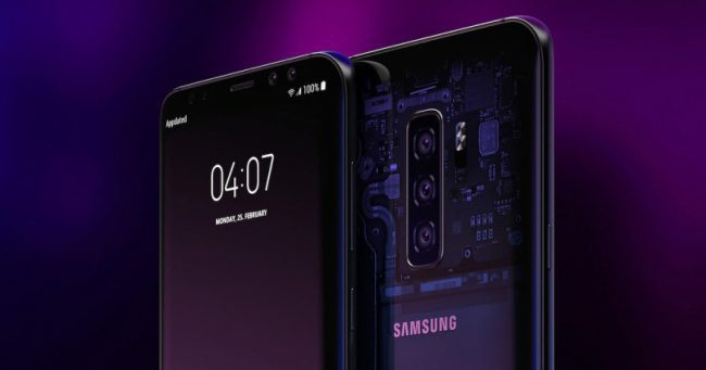 Samsung Galaxy S10 concepto