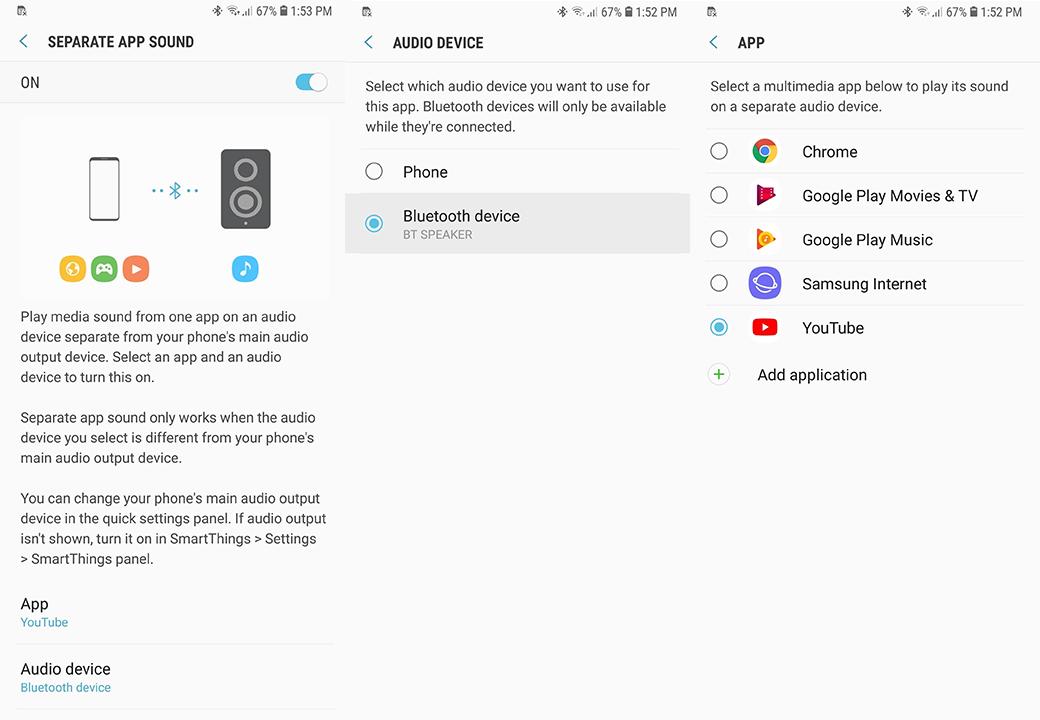 app silenciadas bluetooth