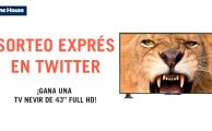 ¡Participa en #PorTuCaraDeMartes y gana una televisión Nevir de 43 pulgadas!
