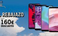 ¡Solo del 11 al 18 de julio celebramos 'El Rebajazo', hasta 160€ de descuento en smartphones libres!