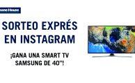 """¡Participa en #PorTuCaraDeMartes y gana una Smart TV Samsung de 40""""!"""