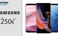 ¡Solo del 12 al 16 de septiembre especial Samsung con descuentos de hasta 250€!