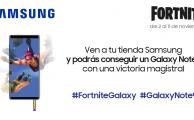 ¡Echa una partida magistral a Fortnite en tu tienda Samsung y gana un Galaxy Note 9!